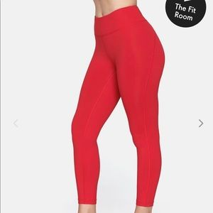 New Outdoor voices red leggings!